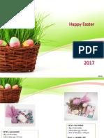 Sesobel Decorated Baskets for Easter