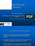 School Nursing Services
