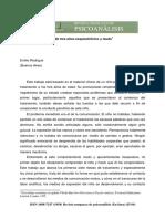 El Análisis de Un Niño Esquizofrénico y Mudo Emilio Rodrigué