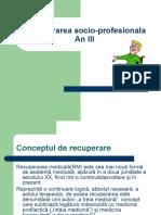 207139280 Recurerarea Socio Profesionala an III