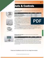 Watts Radiant Controls Catalog En-20100519