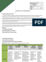 Matriz de Inducción Ciencias Sociales 11o. Bach.