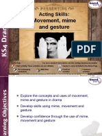Movement Mime and Gesture