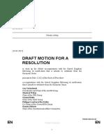 Draft Resolution