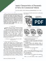 Dynamic Characteristics of Pneumatic