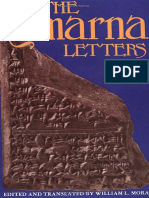 [Moran 1992] the Amarna Letters