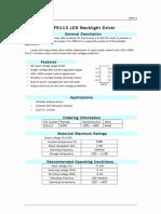 DF6113-Led backlight driver