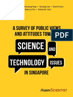 A Survey of Public Views and Attitudes Towards Science and Technology Issues in Singapore
