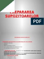 11.PREPARAREA-SUPOZITOARELOR