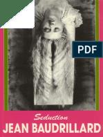 Jean Baudrillard  - Seduction