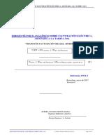 Análisis Sobre Facturación Elécrica, Tarifa 3.0A