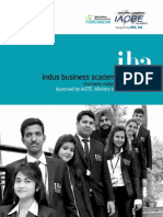 IBA Bangalore - 2017 Prospectus