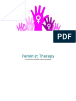 Feminist Therapy Handout
