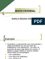 Exemplo EXPERIMENTO FATORIAL