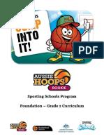 sporting schools aussie hoops rookie
