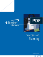 Succession Planning Blue Paper