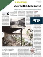 Reportaje en El Correo  sobre el Beti-Jai (14/07/2010)