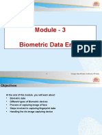 Module 3 Biometric Data Entry