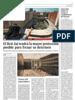 Reportaje en El Pais sobre el Beti-Jai (14/07/2010)