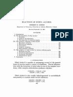 Ethanol Reactions Oxid