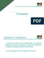 14 - Evaluation
