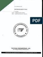 Laporan Penyelidikan Tanah GI Kalisari Mulyosari Surabaya.pdf