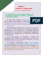 TEMA 1.Mente%2c Cerebro y Educacion 2014-2015