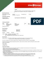 Lion Air ETicket (RINKYE) - Tangkulung
