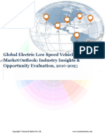 Global Electric Low Speed Vehicle (LSV) Industry Analysis