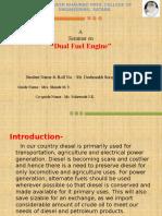 Seminar Presentation Dual Fuel