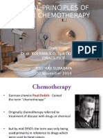 General Principles of Cancer Chemotherapy