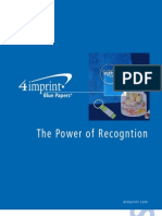 Power of Recognition Blue Paper