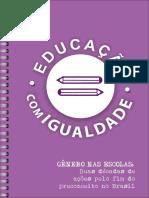 Texto 01 - Gênero Nas Escolas - Duas Décadas de Ações Pelo Fim Do Preconceito No Brasil