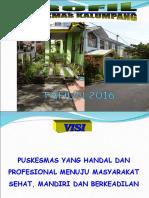 Presentasi Penggalangan Komitmen Puskesmas Kalumpang Tahun 2016.ppt
