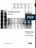 Rochester Art Center 2015 audit