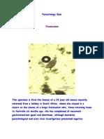 Parasitology Quiz