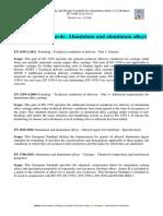 European-standards - Aleaciones Aluminio