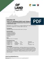 Tour of Jamtland Inbjudan Elit 2010