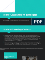 New Classroom Designs