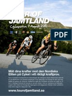 Tour of Jamtland Cyclosportive Inbjudan 2010