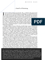 Dead Flesh, Or the Smell of Painting