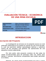Proyecto Mina Escuela