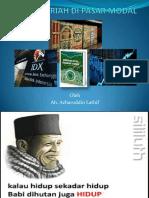 Aspek Syariah Di Pasar Modal-stai Al-mawaddah Warrahmah Kolaka