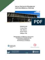 Medical Oncology Jnr Handbook