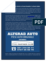 Piese Auto Ford | Magazin Piese Ford | Piese Ford | Piese Originale Ford