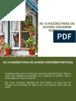 As 10 razões para os jovens visitarem Portugal