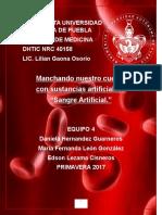 Sangre Artificial (1)