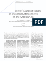 Performance of Coating Systems in Industrial Atmospheres