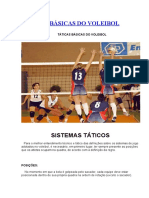 Táticas Básicas Do Voleibol