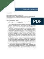 Motivation Letter FCT